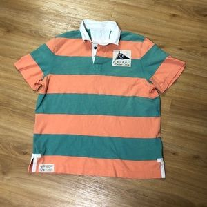 Polo Ralph Lauren Yachting RYLC Striped Polo Shirt